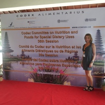 Codex Committee on Nutrition and Foods for Special Dietary Uses in Bali, Indonesia November 2014