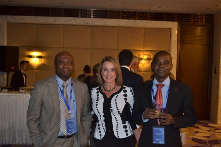 Codex Committee on Food Additives. NHF Delegate Kat Carroll with Country Delegates-